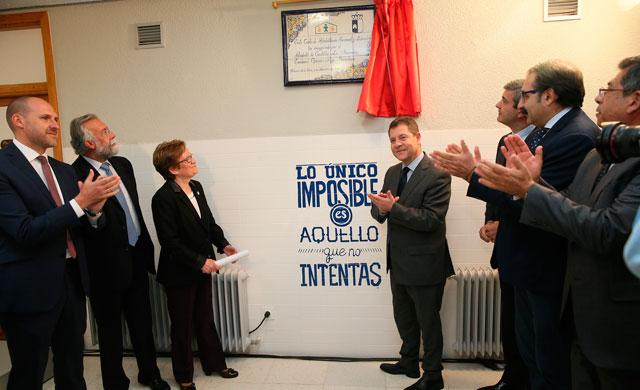 Inauguración del nuevo centro de ATAFES en Talavera de la Reina