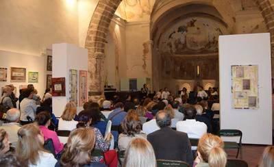 Vicente Martín y su 'Arte Sostenible' a favor de APACE Talavera