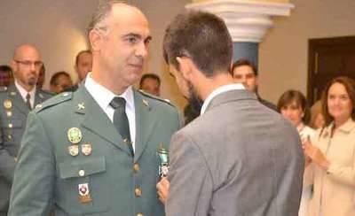 Homenaje a la Guardia Civil en Talavera el día de su patrona
