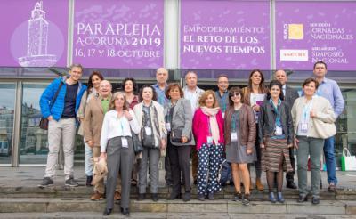 Profesionales de Medicina y Enfermería del Parapléjicos comparten su experiencia en A Coruña