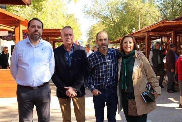 El Grupo de Desarrollo Rural Montes de Toledo, presente en la Fiesta de la Rosa del Azafrán de Consuegra