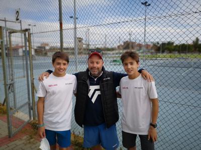 Soliss patrocina a los campeones de tenis de Castilla-La Mancha