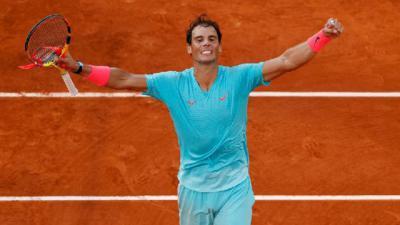 Rafa acaba de ganar su 20 Grand Slam