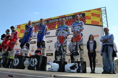 Triunfo del Campeonato de Sidecar celebrado en el Cerro Negro