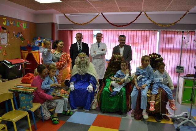 Los Reyes Magos han visitado a los enfermos de Talavera