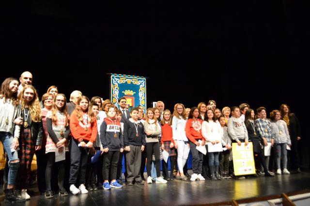 Escolares de Talavera protagonizan un Pleno Infantil por el 40 aniversario de la Constitución