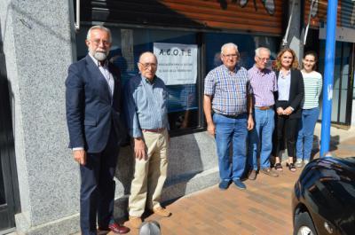 Ramos visita la nueva sede de la Asociación para la Cultura y el Ocio de la Tercera Edad