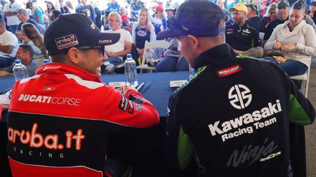 Los dos pilotos que este año se disputan el título.