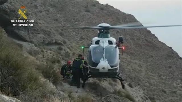 Rescatadas once personas, dos de ellas Guadalajara, en el Pirineo oscense.