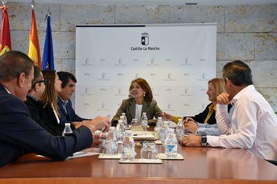 El Gobierno de Castilla-La Mancha mantiene una reunión con la Asociación de Residencias de la Tercera Edad de Castilla-La Mancha (ARTECAM)