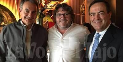 Un talaverano, testigo directo de la cita de Zapatero, Bono y García-Page en un restaurante de Madrid