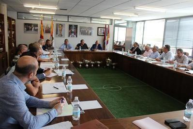 Primera reunión de la temporada en la Territorial de Fútbol