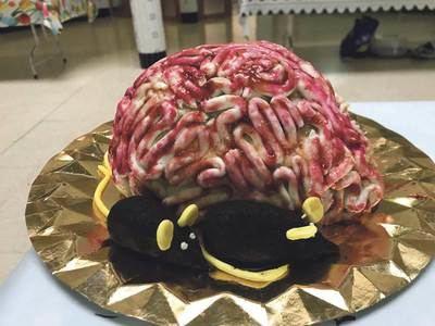 Concurso gastronómico por Halloween en el colegio Ruiz de Luna