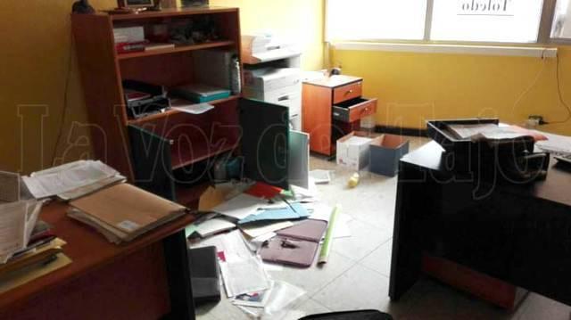 Asaltan varios locales en el Edificio 'La Paz' de Talavera