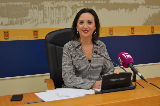 La portavoz del Gobierno. María Rodríguez