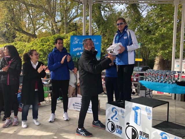 Diputación se suma a la marcha y carrera popular para concienciar sobre la diabetes