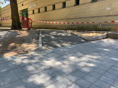 El Ayuntamiento de Toledo construye dos nuevas rampas