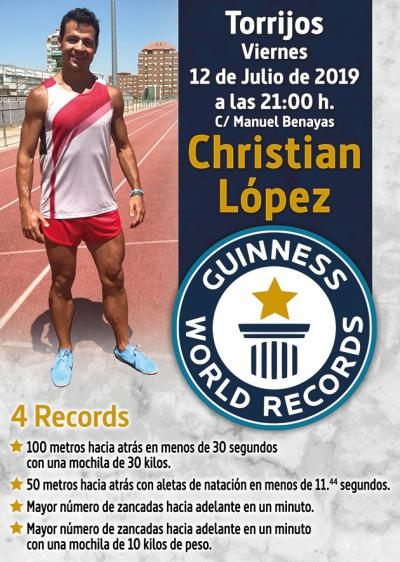 Objetivo, batir 4 récords Guiness en Torrijos