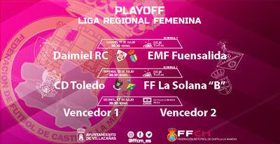 FÚTBOL | CMM Play emite en directo los playoff del fútbol femenino
