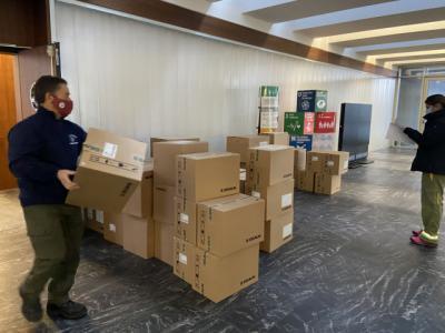 COVID-19 | El Gobierno de CLM ha repartido esta semana casi medio millón de artículos de protección