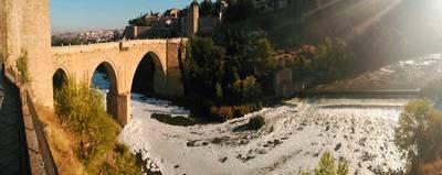Comparaciones odiosas: éste es el estado del Tajo a su paso por Toledo