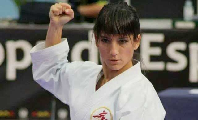 La karateca talaverana Sandra Sánchez