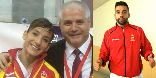 Sandra Sánchez y Raúl Cuerva, a las finales de la I Copa Iberoamericana de kárate