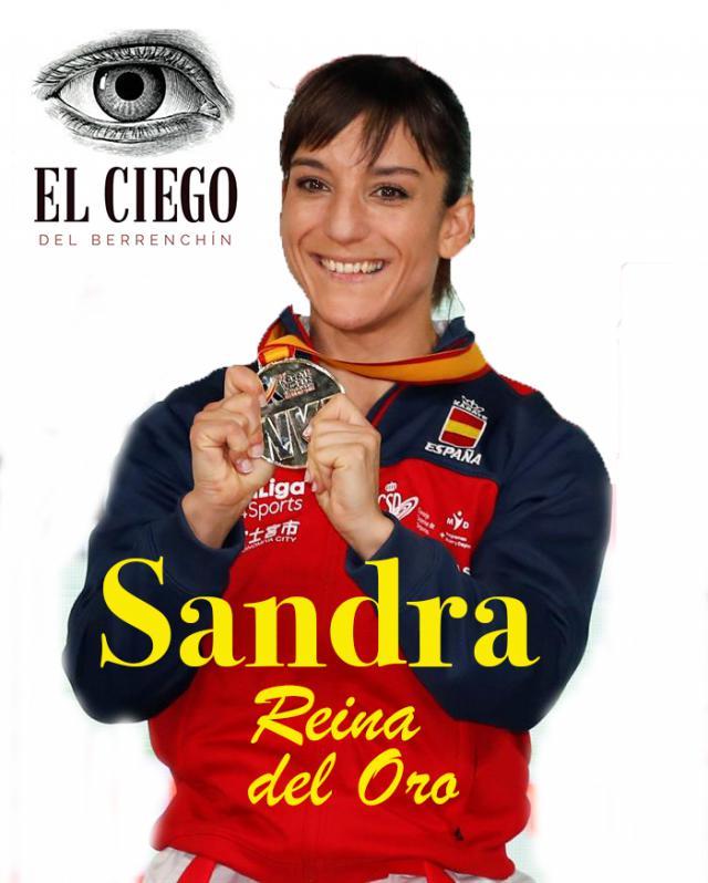 Sandra, gold of queen