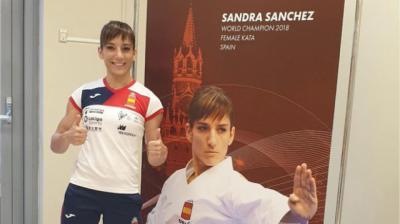 Nuevo oro para la incontestable Sandra