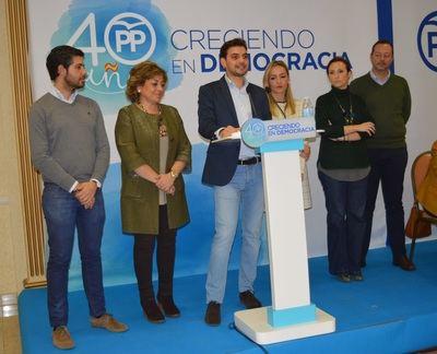 Santiago Serrano es elegido presidente del Partido Popular de Talavera