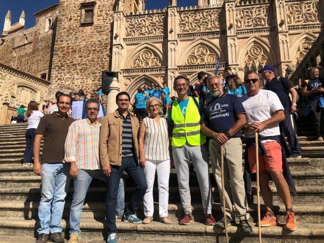 Realizado el tramo final del Camino Real de Guadalupe