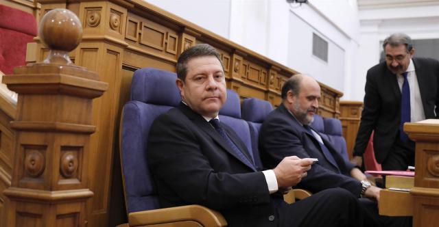 García-Page en las Cortes regionales hoy