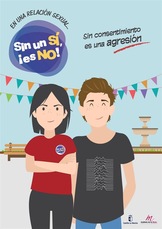 La campaña 'Sin un SÍ, es NO' ayuda a 140 castellanomanchegas a reconocerse como víctimas de violencia de género