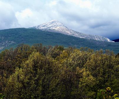 Sierra de Guadalajara, macizo del Pico del Lobo