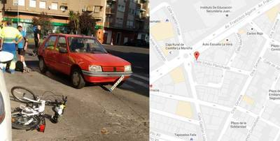 Atropellada una mujer china en Talavera