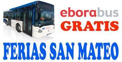 ¿Sabes que Eborabús te lleva GRATIS a las ferias de San Mateo?