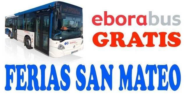 �Sabes que Eborab�s te lleva GRATIS a las ferias de San Mateo?