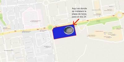 ¿Dónde estará la plaza de toros de la corrida del 24 en Talavera?