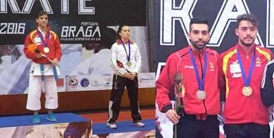 Sandra Sánchez (ORO) y Raúl Cuerva (PLATA) completan las 18 medallas de España en Braga (Portugal)