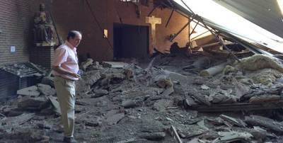 La iglesia de San Juan de Avila será derribada completamente