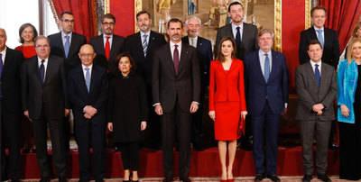 El Rey clausura el IV Centenario de Cervantes