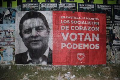 La Junta Electoral pide a Unidas Podemos que retire la campaña 'En CLM los socialistas de corazón votan a Podemos'