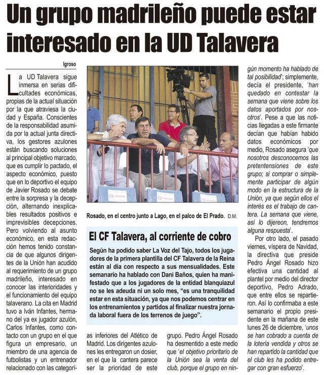 HEMEROTECA | 20 Noticias con foto y una entrevista (XI)