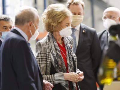 NUESTRA GENTE | La Reina Sofía, este miércoles en Toledo
