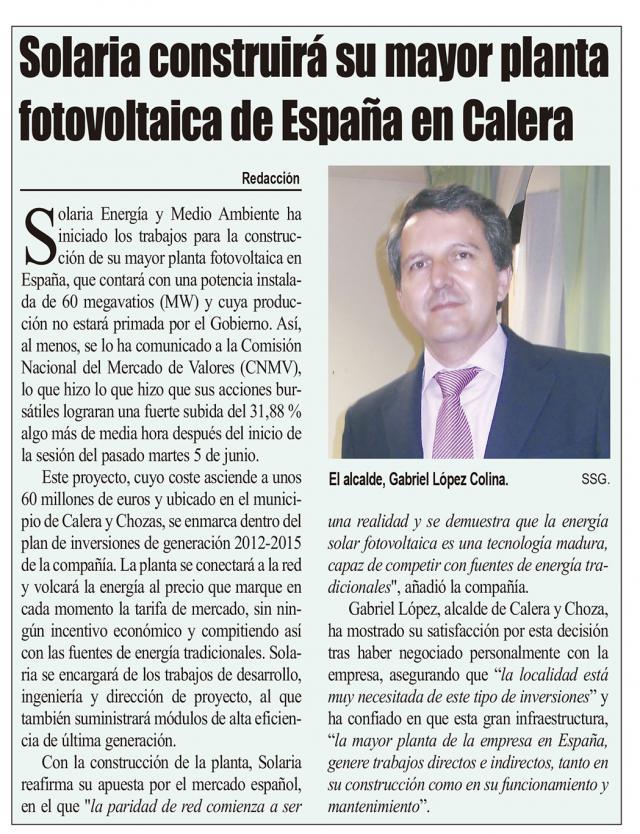HEMEROTECA | 20 Noticias con foto y una entrevista (XV)