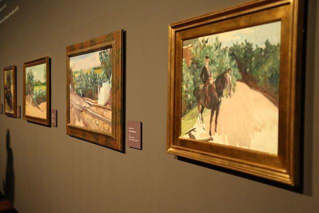 La exposición 'Sorolla Tierra Adentro' encara su recta final en el Museo de Santa Cruz