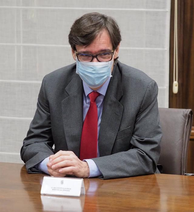 Salvador Illa, ministro de Sanidad  | Archivo | Europa Press