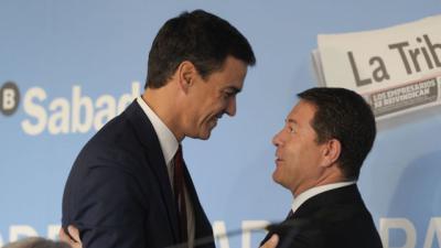 Pedro y Emiliano en una imagen de archivo.
