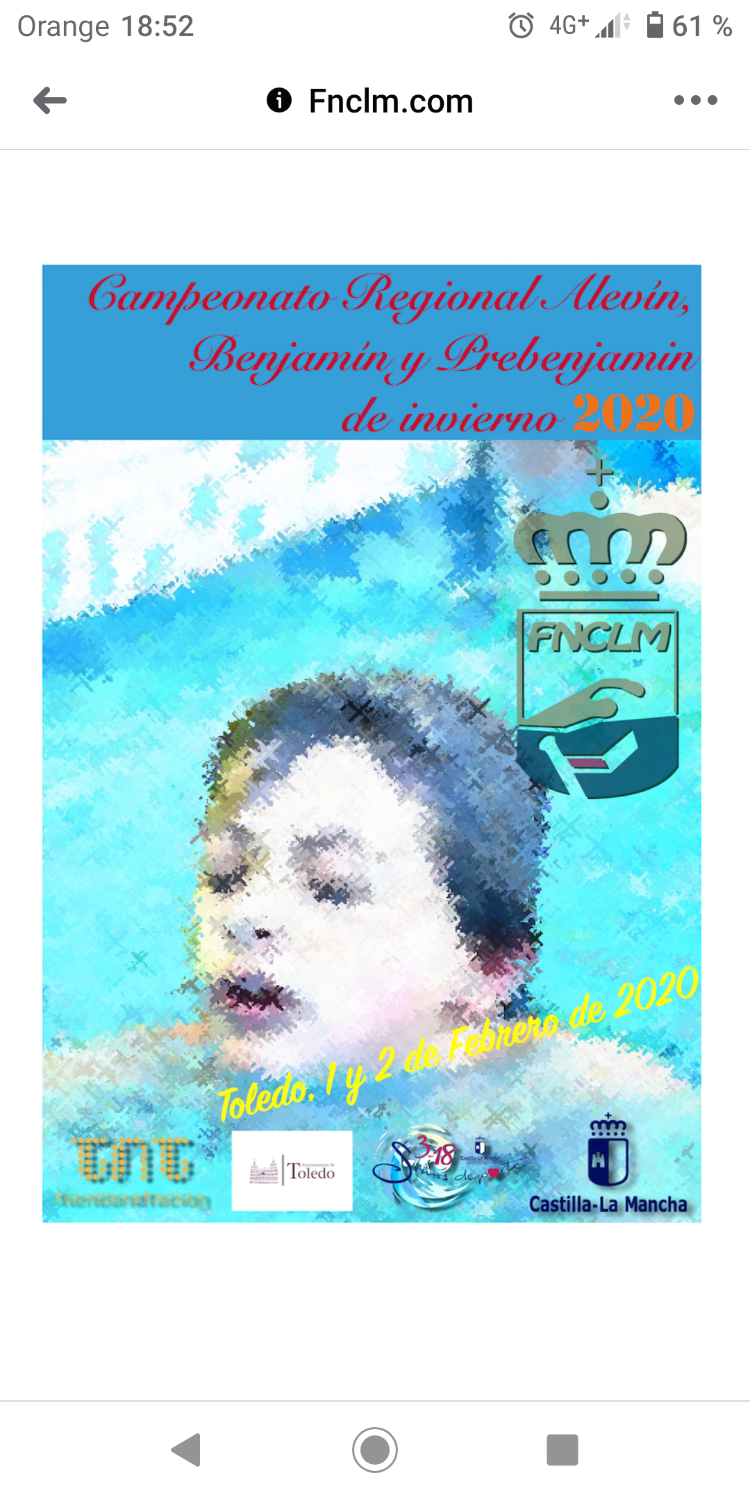 39 nadadores representarán este fin de semana al Ciudad de Talavera en el Regional de Invierno