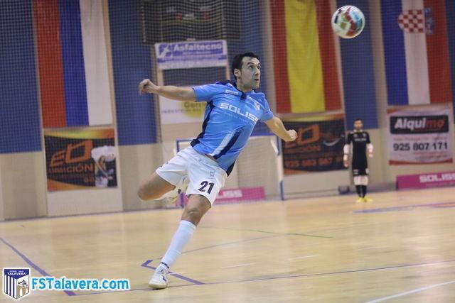Sergio González, jugador del Soliss FS Talavera